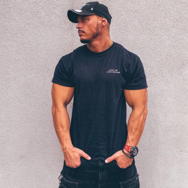 AVATAR Men T-shirt BLACK