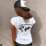 F*CK COVID-19 Hat - WHITE