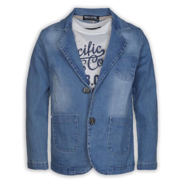 Детско сако, комплект с блуза