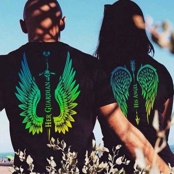 Тениски за двойки Angel / Guardian 2