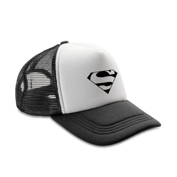 Шапка с козирка Супермен 3D Лого