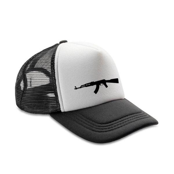 Шапка с козирка AK47 3D Лого 2