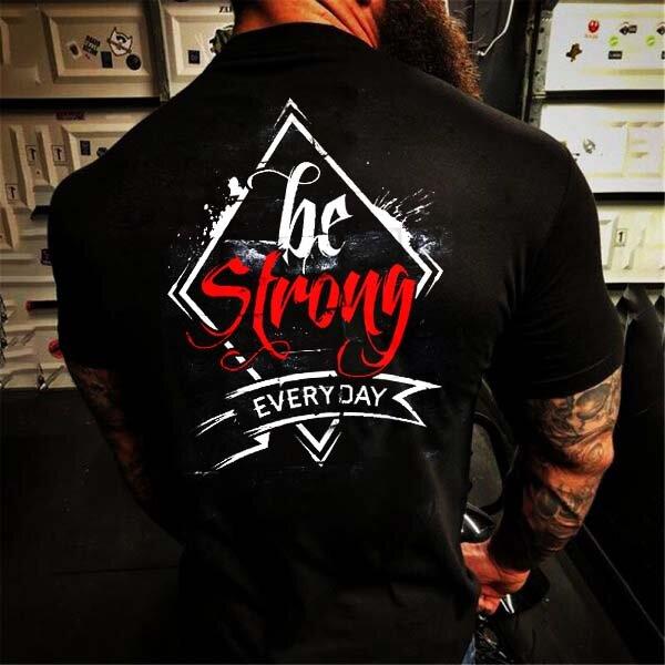 Тениска Бъди Силен