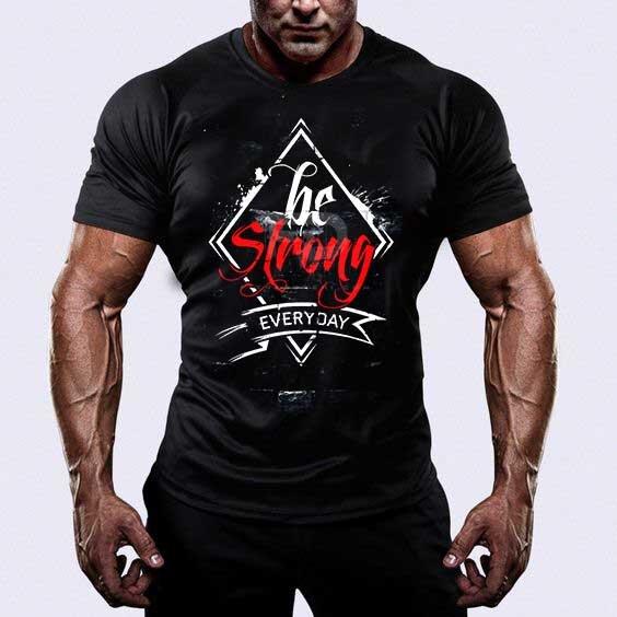 Тениска Бъди Силен 2