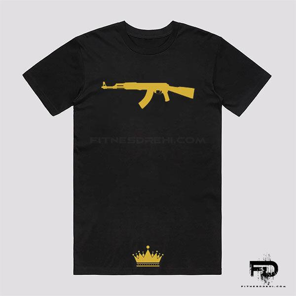 Тениска AK47 Gold