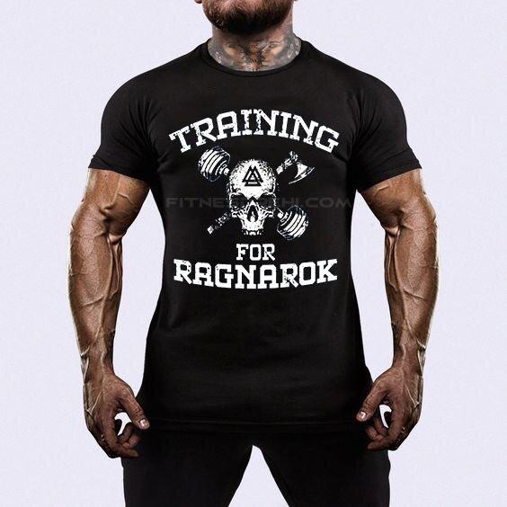 Тениска Training for Ragnarok