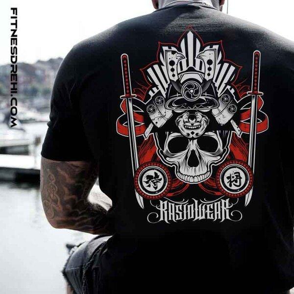 Тениска Samurai Skull