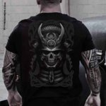 Тениска Samurai Skull-Copy