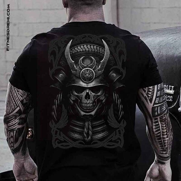 Тениска Samurai Skull 2