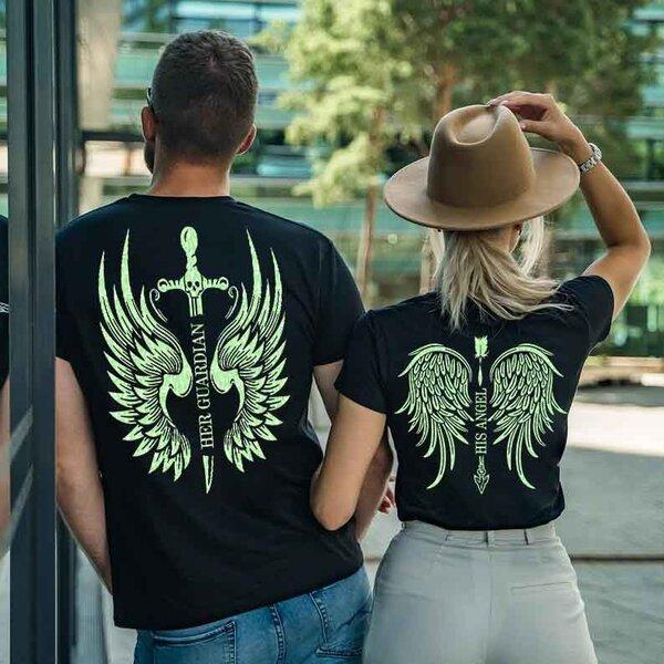 Тениски за двойки Angel / Guardian New
