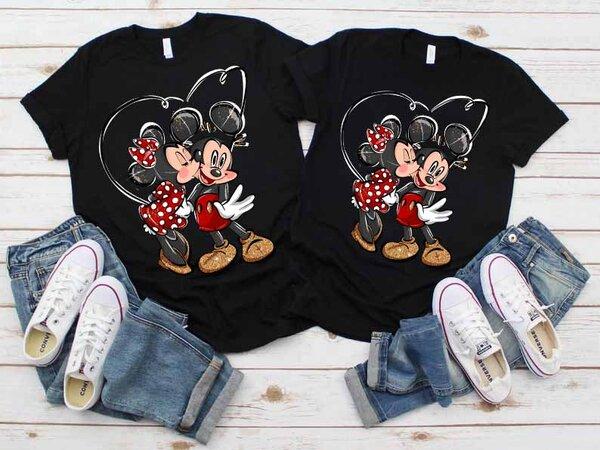 Тениски за двойки Мики и Мини Премиум 2