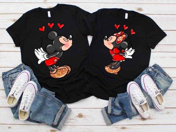 Тениски за двойки Мики и Мини Премиум 3