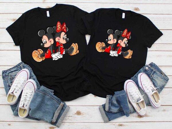 Тениски за двойки Мики и Мини Премиум 4