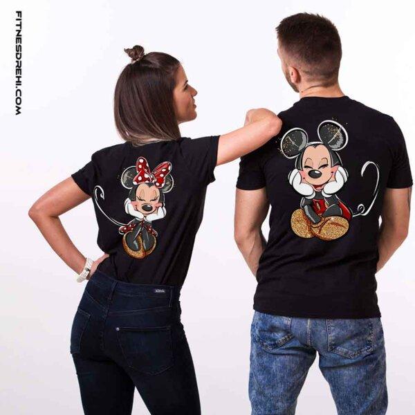 Тениски за двойки Мики и Мини Премиум Back 4