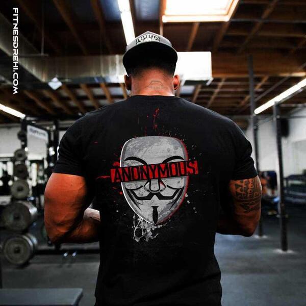 Тениска Анонимен