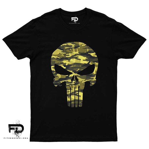 Тениска Military Skull