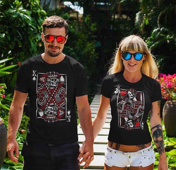 Тениски за двойки King / Queen