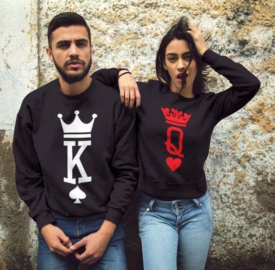 Блузи за двойки K / Q