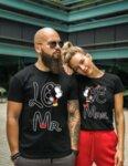 Тениски за двойки MONEY-Copy