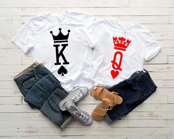 Тениски за двойки K / Q White