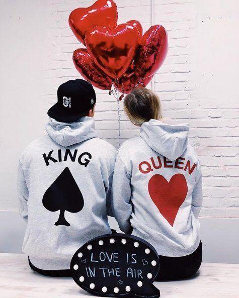 Суичъри за двойки King/Qeen 2