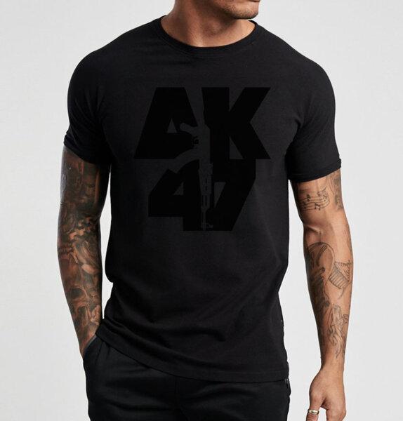Тениска АК47 3D лого