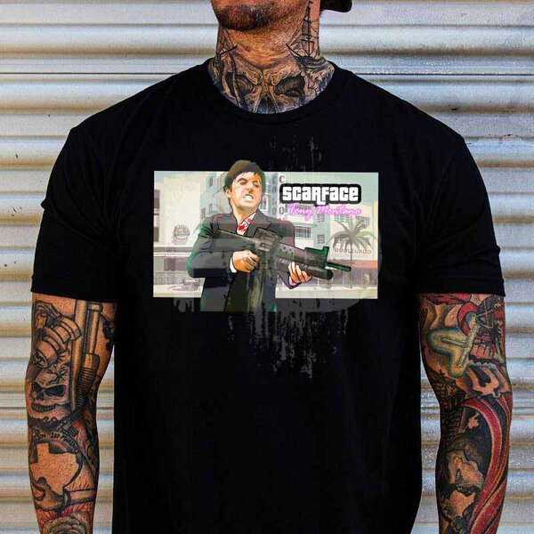 Тениска Scarface