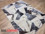 релефен килим Женева 9801 крем/визон