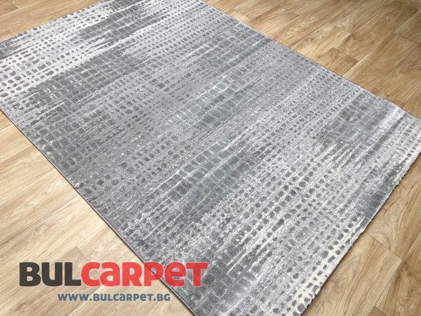 релефен килим Изумруд 8899 сив