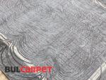 релефен килим Изумруд 8900 сив
