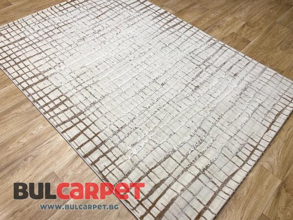 релефен килим Изумруд 8903 крем