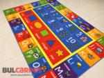 детски килим букви и цифри