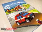 детски килим пожарна