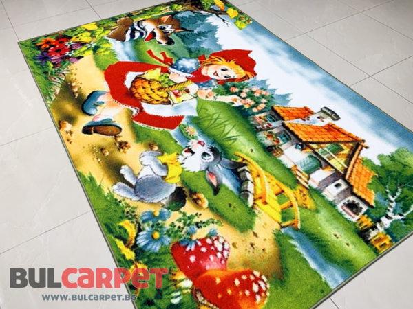 детски килим червената шапчица