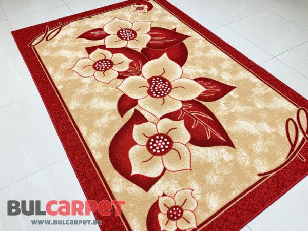 мокетен килим монца беж бордо