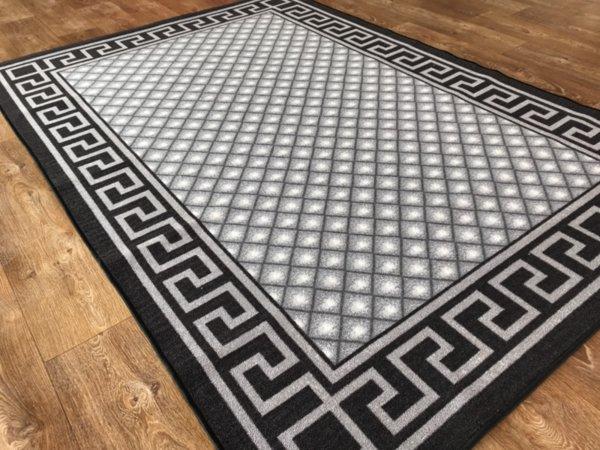 мокетен килим 1821 сив