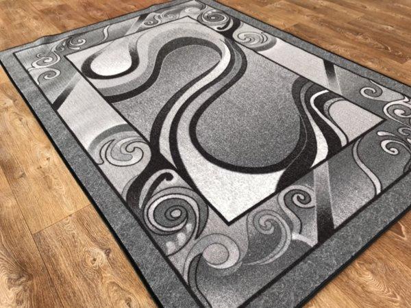 мокетен килим 1818 сив