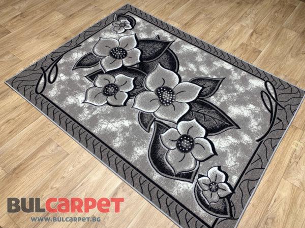 мокетен килим монца 3д сив