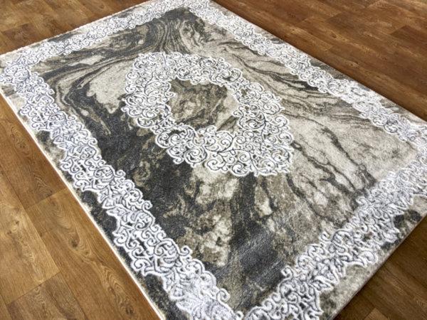 килим хеопс 1712 крем сив