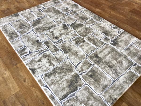 килим хеопс 1711 крем сив