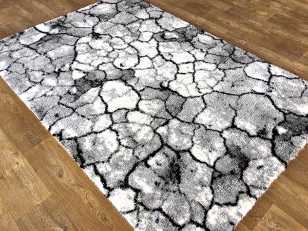 килим шаги лотус 6467 бяло