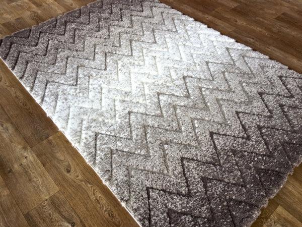 килим шаги лотус релеф 7620 беж