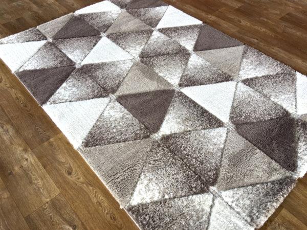 килим шаги лотус релеф 7619 беж