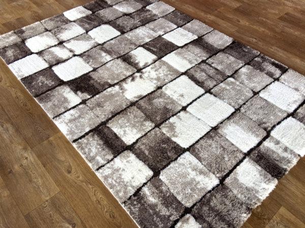 килим шаги лотус релеф 6393 беж
