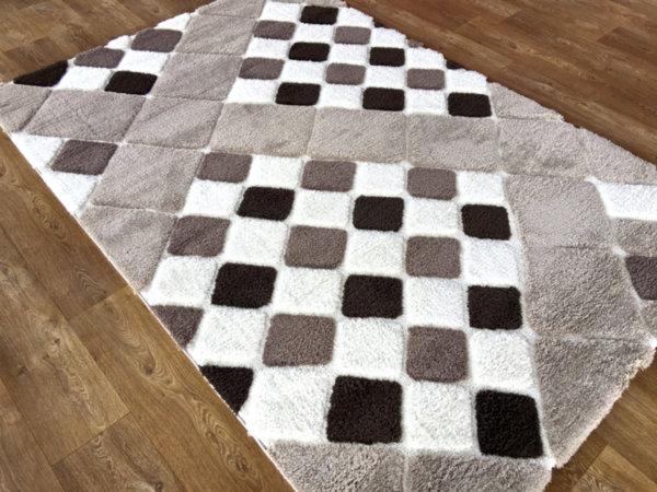 килим шаги лотус релеф 5492 беж