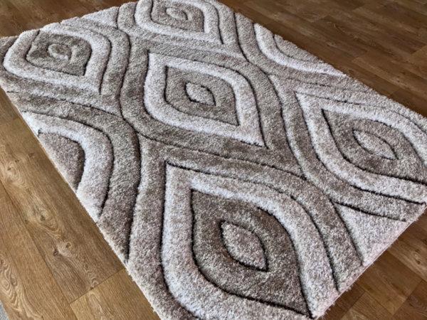 килим шаги макс 3Д  311 визон