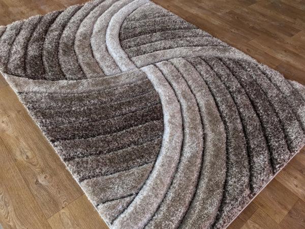 килим шаги макс 3Д  304 визон