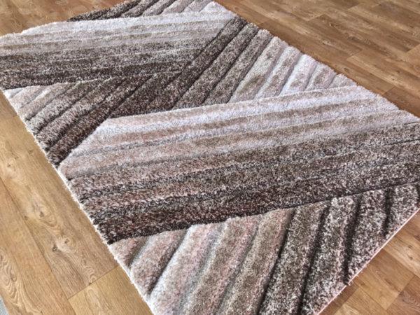 килим шаги макс 3Д  302 визон