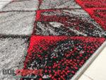 релефен килим вива 9978 червен