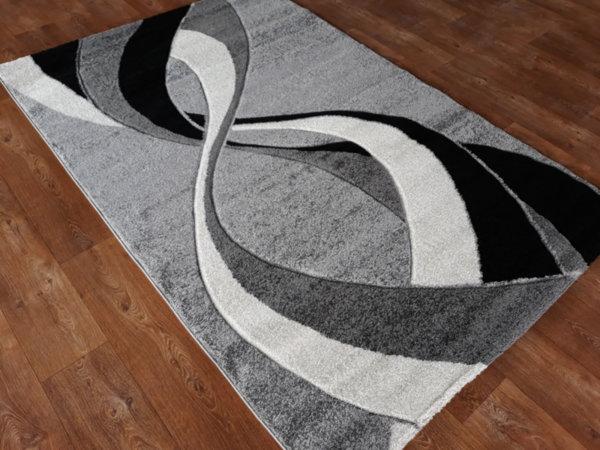 релефен килим съни 3583 сив